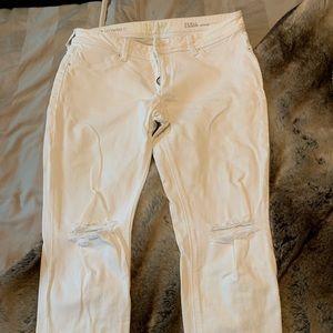 DL1961 Emma skinny in white